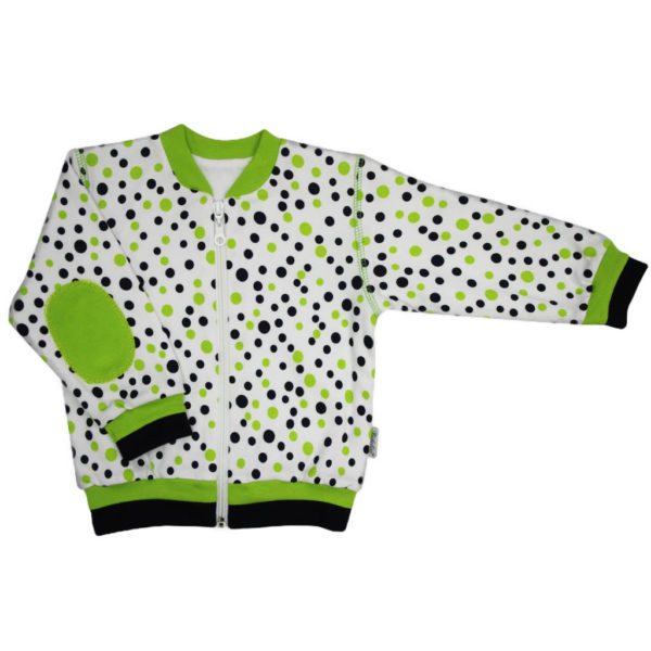 1708 zelena farba kabatik mikina richelieu sk