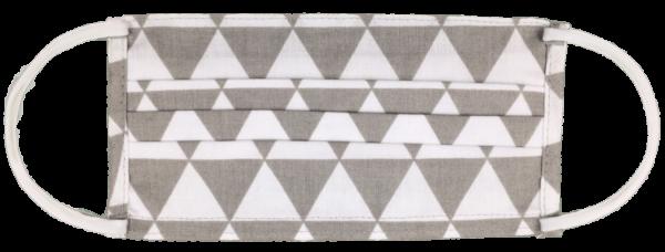 1999 cf trojuholník 1999E Bavlnené ochranné rúško s kapsičkou