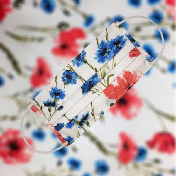 IMG 5160 1999E Bavlnené ochranné rúško s kapsičkou