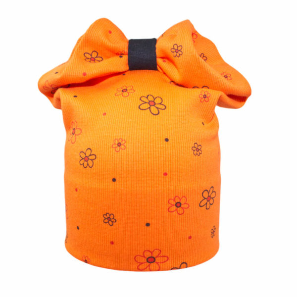 1242 ciapka kvetka oranzova