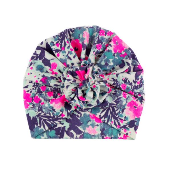 1246 turban pink kvet
